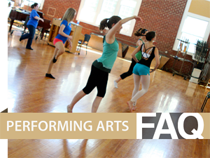 Sterling offers a variety of performing arts