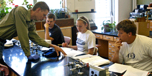Sterling's science department provides students a first step towards any medical career