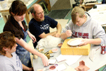 A variety of classes are offered at Sterling including pottery