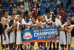 Men's Basketball KCAC Champions 2010-2011