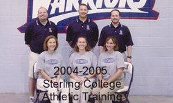 Sterling College Athletic Training 2004-05