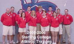 Sterling College Athletic Training 2005-06