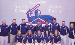 Sterling College Athletic Training 2006-07