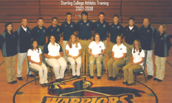 Sterling College Athletic Training 2007-08