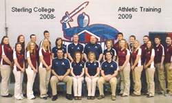 Sterling College Athletic Training 2008-09