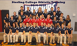Sterling College Athletic Training 2010-11