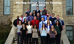 Sterling College Athletic Training 2012-13