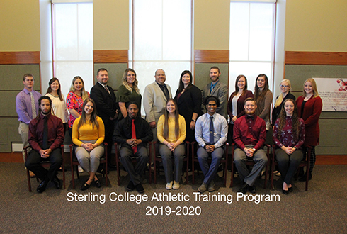 Sterling College Athletic Training 2019-20