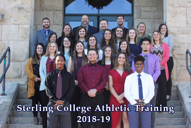 Sterling College Athletic Training 2018-19