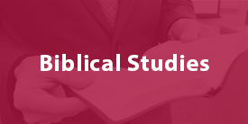 Biblical Studies - Sterling College