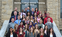 Sterling College Athletic Training 2013-14