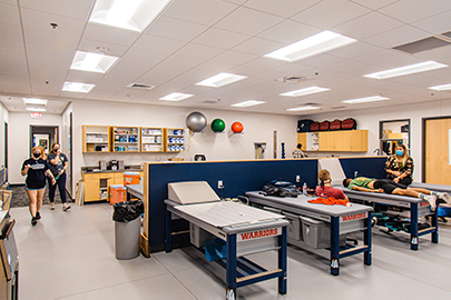 Athletic Training Room - Sterling College
