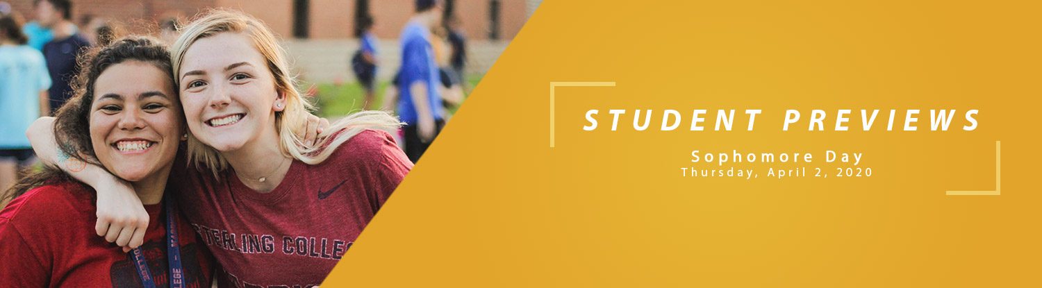 Student Previews at Sterling College