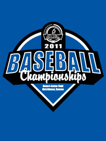 2011 KCAC Baseball Tournament Logo
