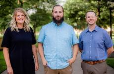 Sterling College welcomed three new faculty members to campus for the fall semester.