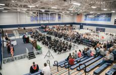 Sterling College graduates Class of 2020 and Class of 2021 at Commencement