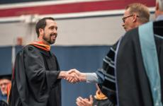 Kosek receives 2019 McCreery Teaching Award - Sterling College