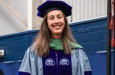 Saenger receives 2021 McCreery Teaching Award