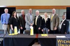 Sterling College signs pre-engineering articulation agreements with Wichita State University - Sterling College