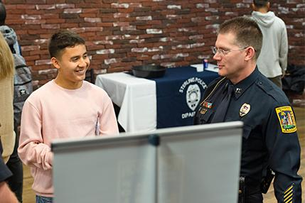 The Criminal Justice program at Sterling College hosted its annual career fair on October 24 in the Student Union on the College campus.