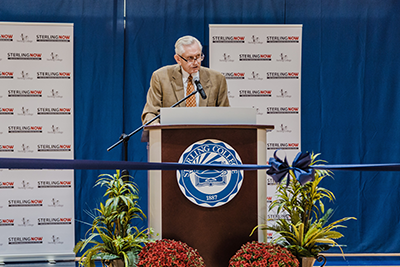 Sterling College dedicates Gleason Center Expansion