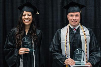 Moncada, Yelton named 2019 Outstanding Graduates - Sterling College
