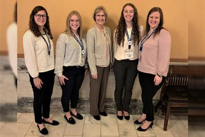 Sterling College Athletic Training Program represented at Kansas State Capitol
