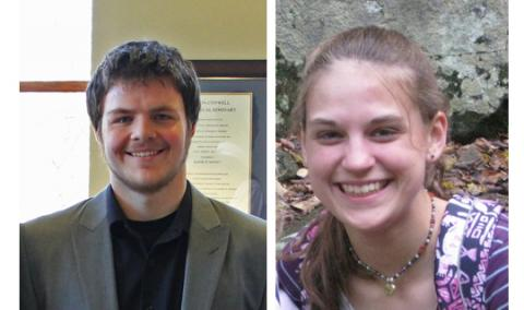 Taylor Fair & Johannah Borchard are the 2012 winners of the Trustee Scholarship.